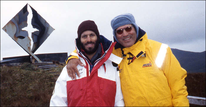 Ivan and Jimmy Cornell, Cape Horn